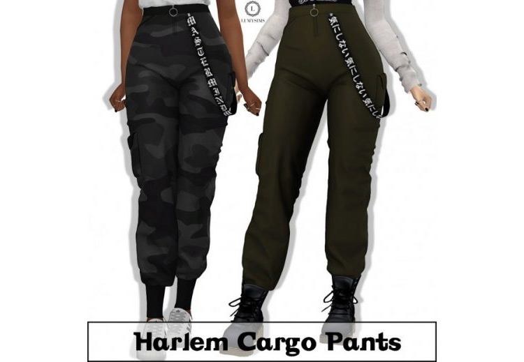 Harlem Cargo Pants for The Sims 4