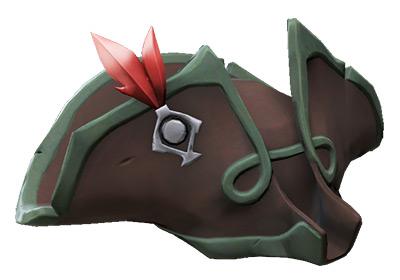 Crimson Corsair Sea Dog Hat / Sea of Thieves