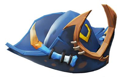 Azure Ocean Crawler Hat / Sea of Thieves