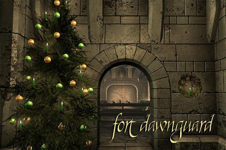 Saturalia Christmas in Skyrim mod