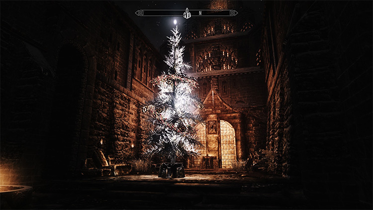 It's Christmas in Skyrim Screenshot