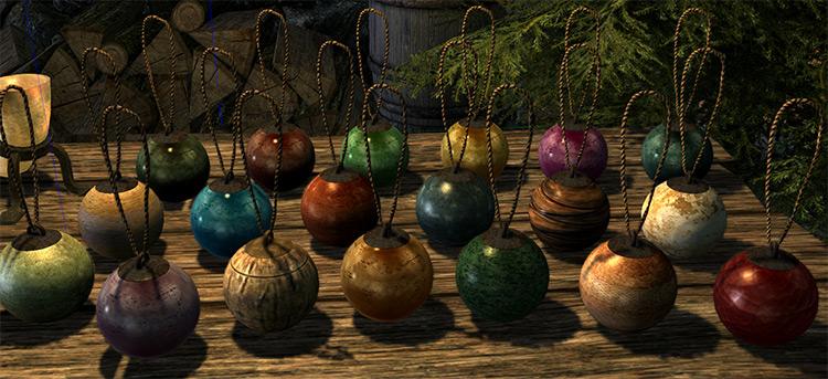 Winter Holiday Resource mod for Skyrim