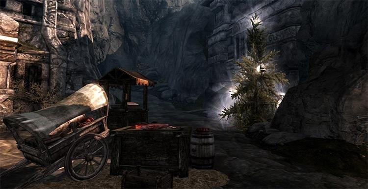 Christmas Trees for Skyrim