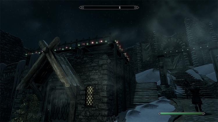 Whiterun Christmas Overhaul / Skyrim mod
