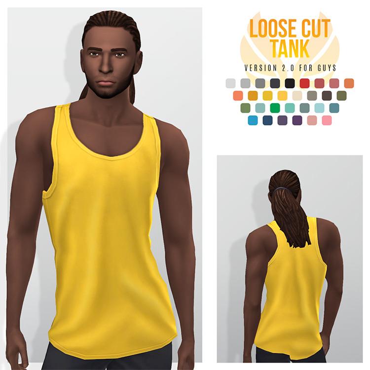 Loose Cut Tanks / TS4 CC