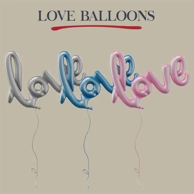 Love Balloons Set / Sims 4 CC