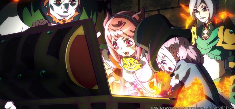 FFXIV Choose Your Life Anime Screenshot