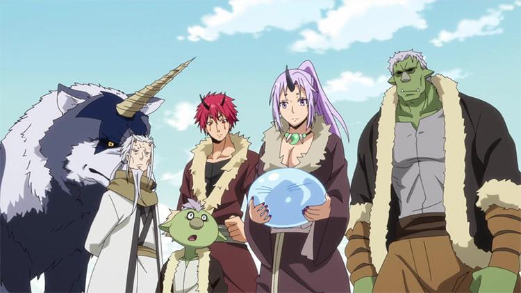 Tensei shitara Slime Datta Ken anime screenshot