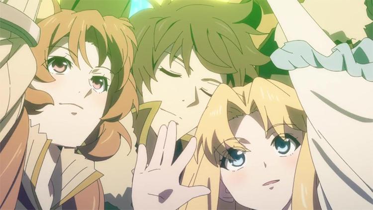 Tate no Yuusha no Nariagari anime screenshot