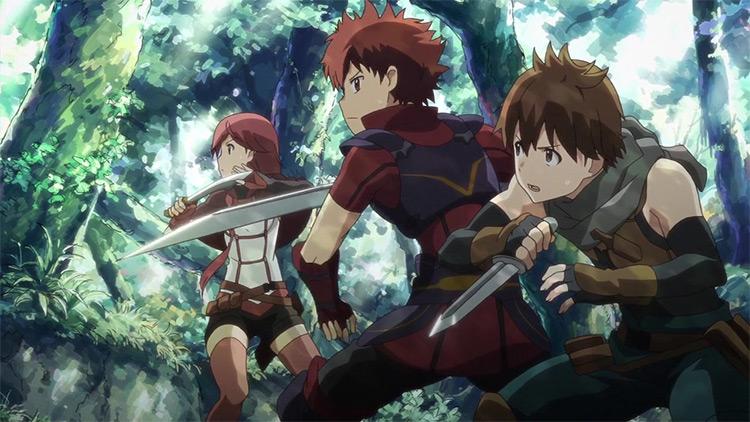 Hai to Gensou no Grimgar anime screenshot
