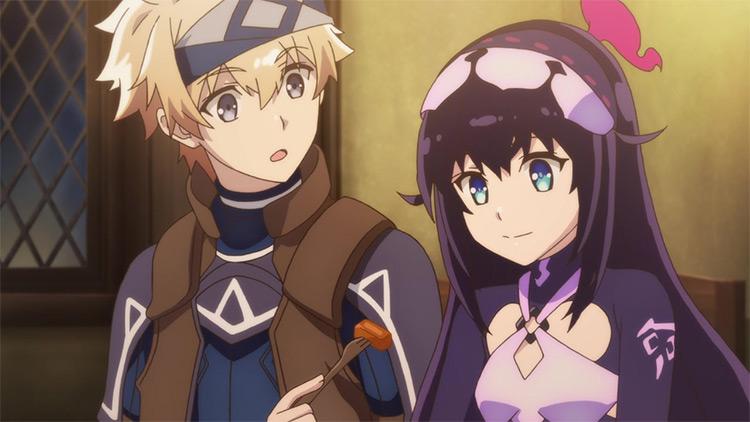 Infinite Dendrogram anime screenshot