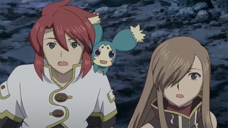 Tales of the Abyss anime screenshot