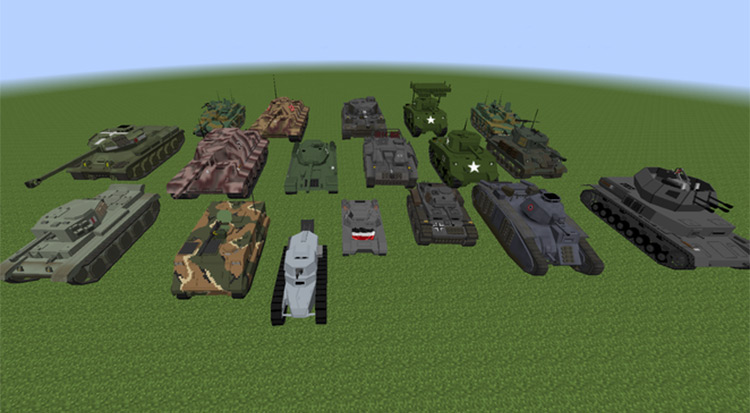 Minecraft Flan's Mod