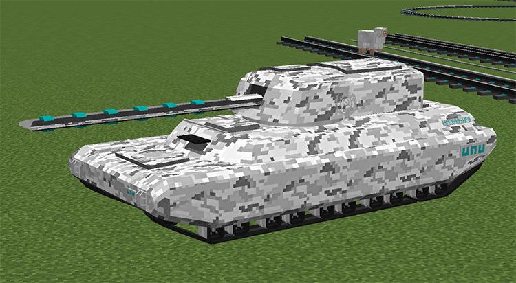UNU Military Vehicles Minecraft mod