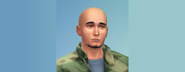 No Soul Goatee CC for The Sims 4