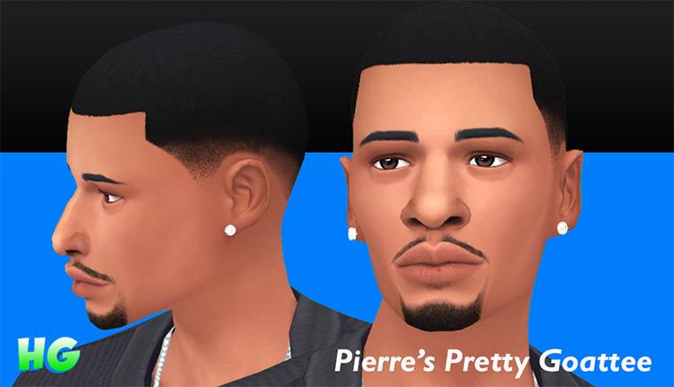Pierre's Pretty Goatee / TS4 CC