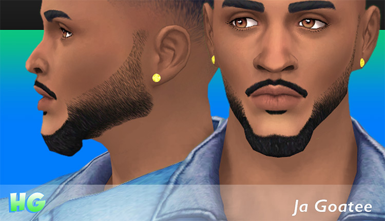 Ja Goatee for The Sims 4