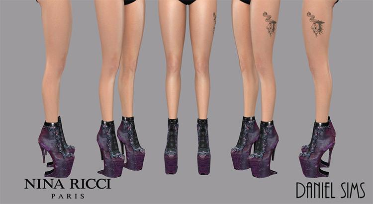 Lady Gaga in Nina Ricci Heels / TS4 CC