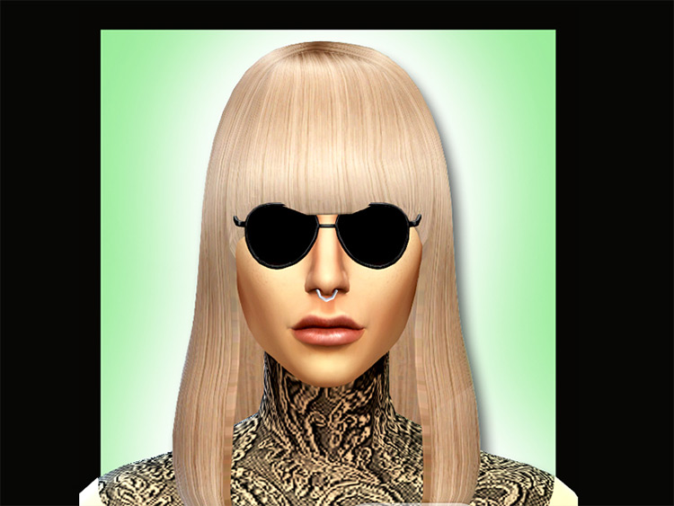 Lady Gaga Skin Details for The Sims 4