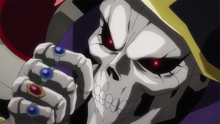 Ainz Ooal Gown in Overlord Anime