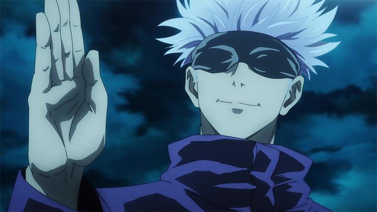 Jujutsu Kaisen anime Satoru Gojou screenshot