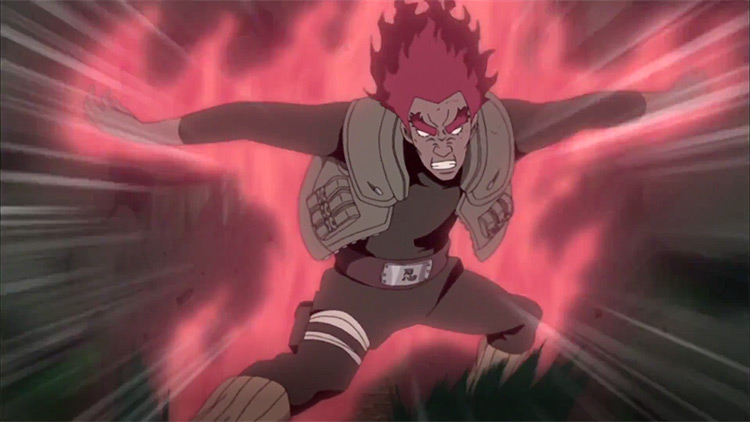 Might Guy in Naruto: Shippuden