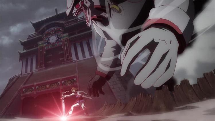 Akame Ga Kill anime Tatsumi screenshot