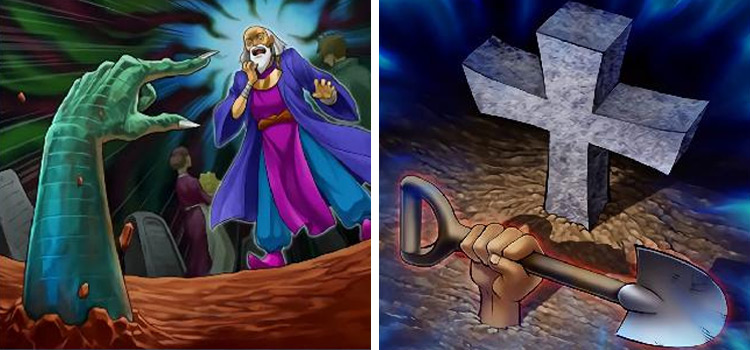 Called by Grave & Foolish Burial Card Arts YGO