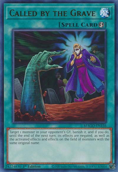 Called by the Grave YGO Card