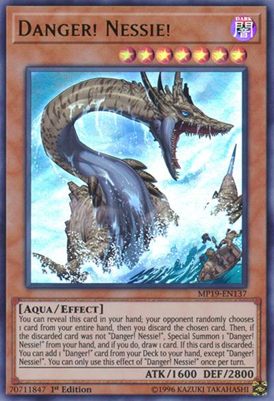 Danger! Nessie! YGO Card