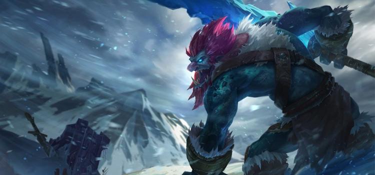 Default original Trundle splash art for League of Legends