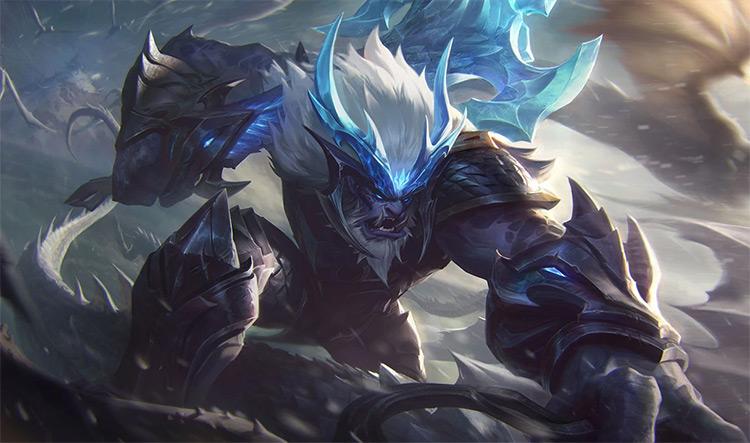 Dragonslayer Trundle Splash / LoL