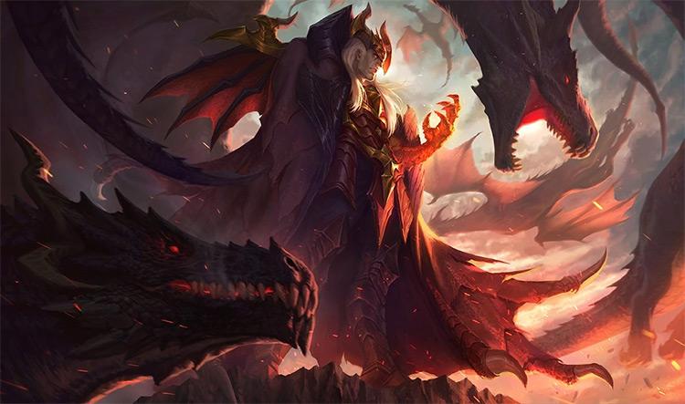 Dragon Master Swain Splash / LoL