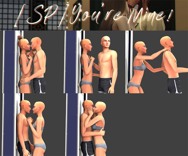 You're Mine! / TS4 Pose CC