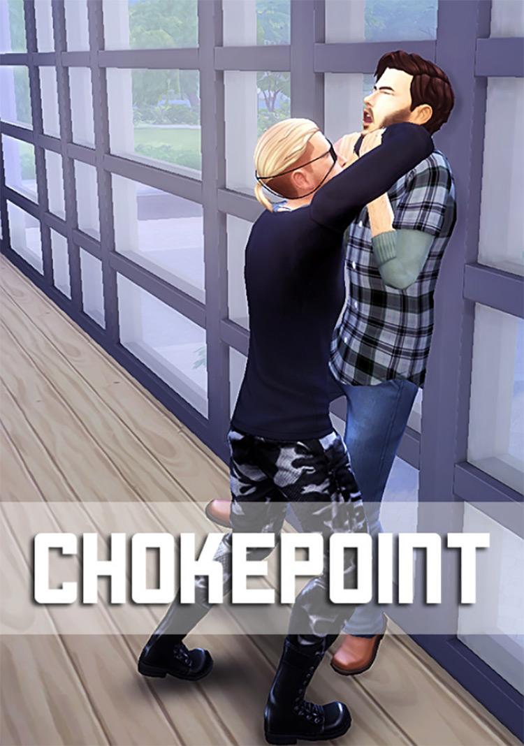 Chokepoint Pose Pack / TS4