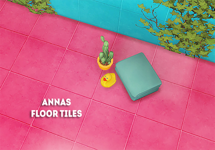 Anna's Floor Tiles CC Set / The Sims 4