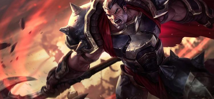 Original Darius Splash Art / League of Legends
