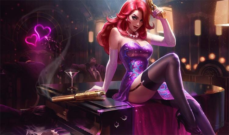 Secret Agent Miss Fortune Splash Art / LoL