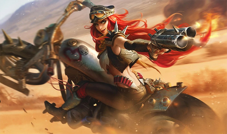 Road Warrior Miss Fortune Splash / LoL