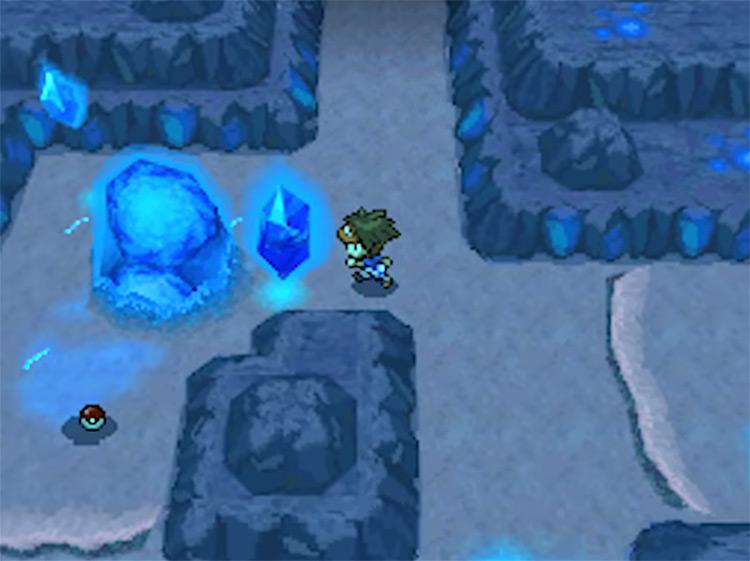 Chargestone Cave / Pokemon Black & White screenshot