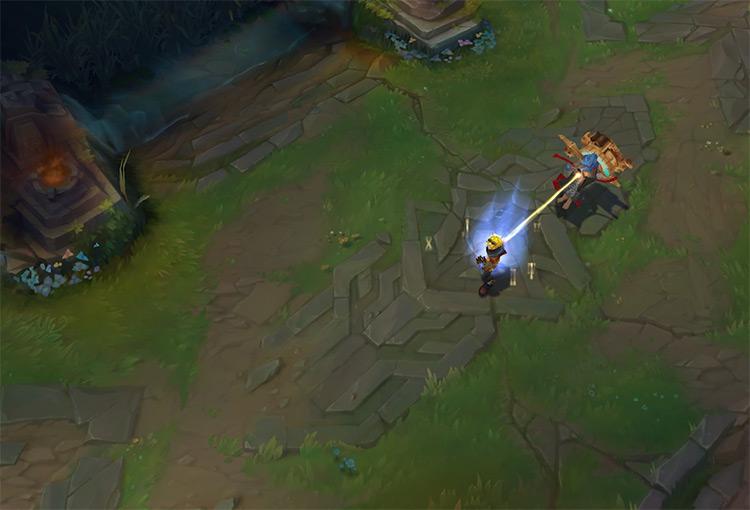 Zilean LoL gameplay screenshot