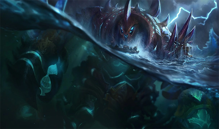 Giant Enemy Crabgot Splash Art / LoL