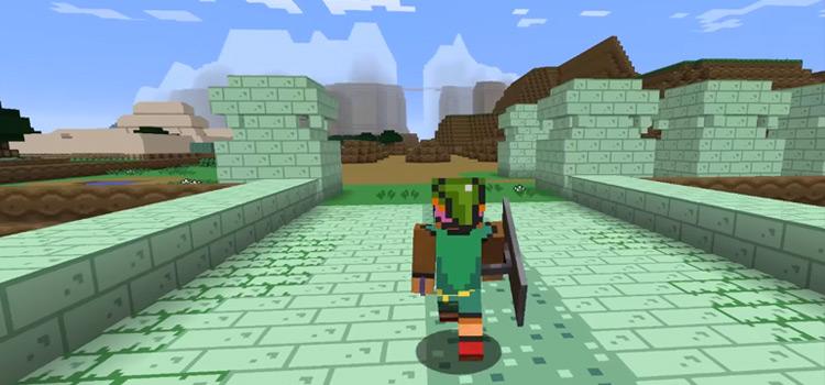 ALTTP Legend of Zelda Modded Skin for Minecraft