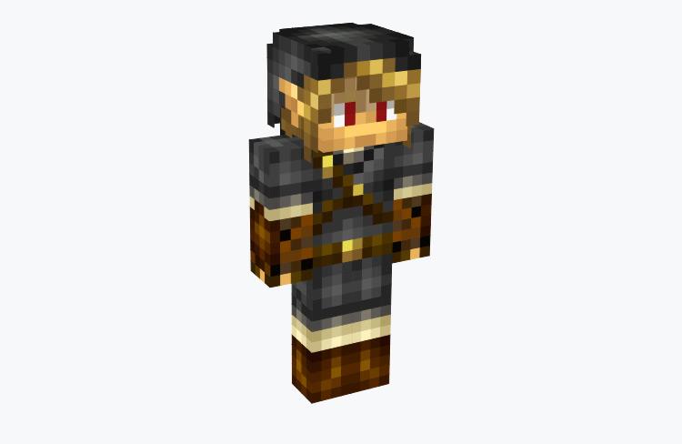 Shadow Link from LoZ Four Swords / Minecraft Skin