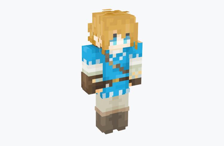Link BotW Champion's Tunic / Minecraft Skin
