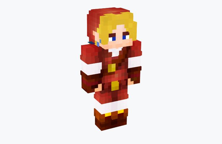 OoT Link Goron Tunic / Minecraft Skin