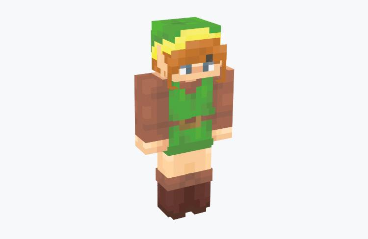 Original Link from Zelda 1 / Minecraft Skin