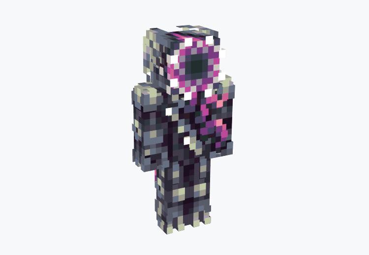 Metallivore Character / Minecraft Skin