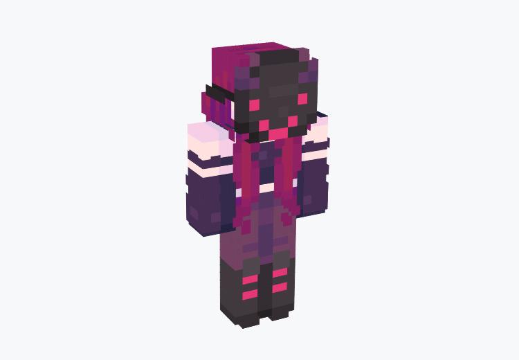 Masked Evil Character / Minecraft Skin