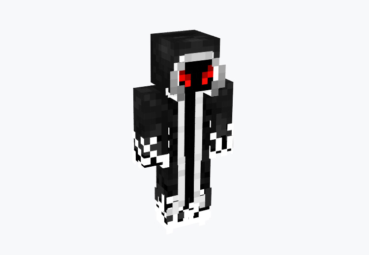 Shadow Master Cloaked Character / Minecraft Skin